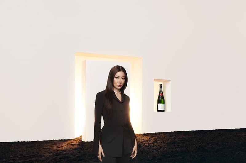 Moët&Chandon x AMBUSH 聯乘香檳系列正式登場