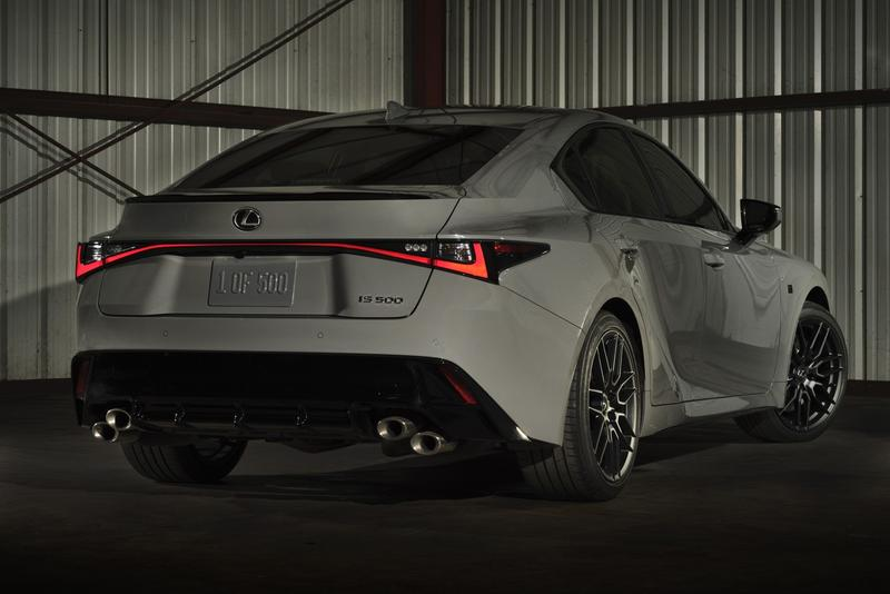 Lexus 發表限量 500 輛 IS 500 F Sport Performance 別注車型