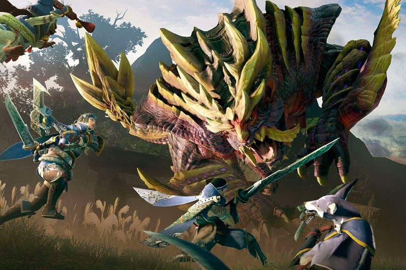 Nintendo Switch 期待大作《Monster Hunter Rise》正式發佈