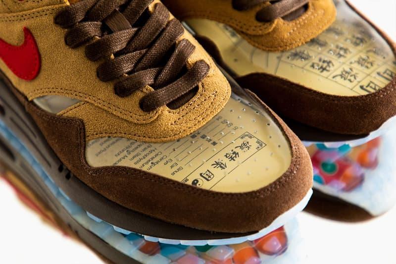 獨家近賞 CLOT x Nike Air Max 1「K.O.D. - Cha」最新聯名鞋款
