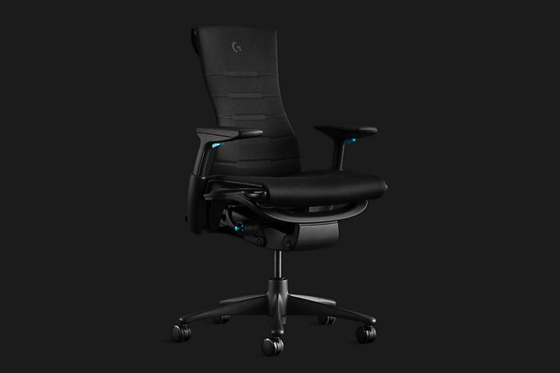 Herman Miller x Logitech 全新聯乘豪華電競座椅 Embody 正式發佈