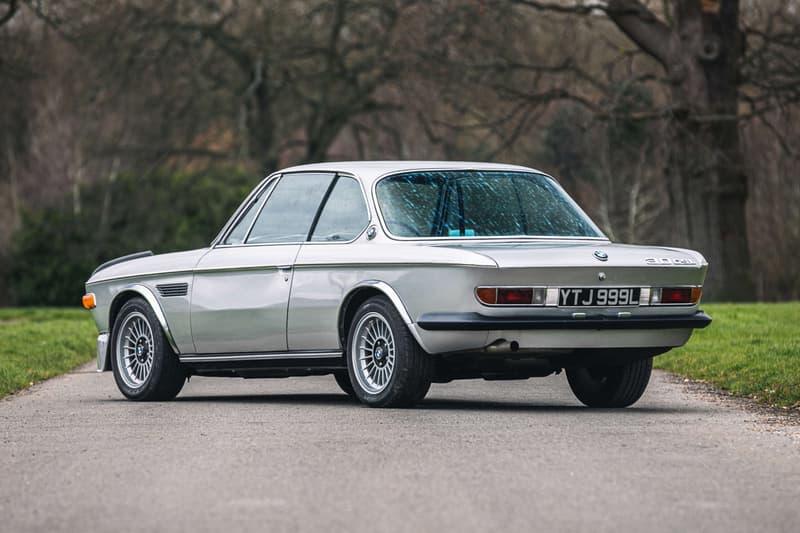 限量 1,265 輛罕有 1973 年 BMW 3.0 CSL 車款展開拍賣