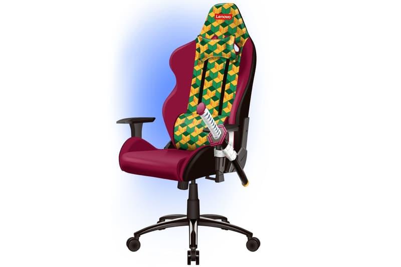 Lenovo 推出全新《鬼滅の刃》主題別注電腦椅