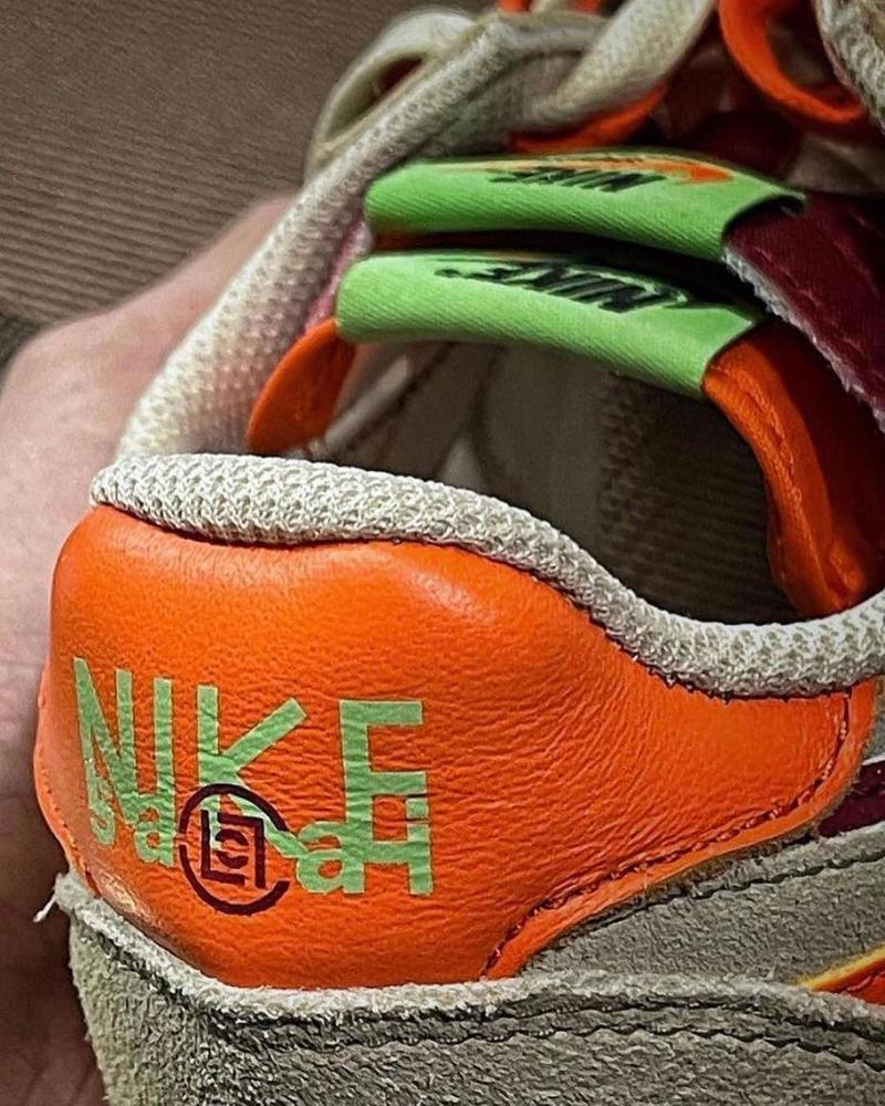 sacai x CLOT x Nike LDWaffle 最新三方聯名實鞋率先曝光