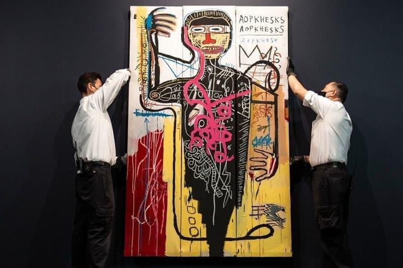 Jean-Michel Basquiat 經典畫作《Versus Medici》將於 Sotheby's 展開競拍