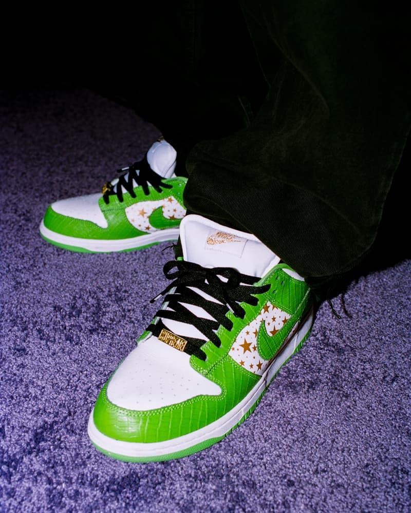 Supreme x Nike SB Dunk Low 全新聯乘系列鞋款正式發佈