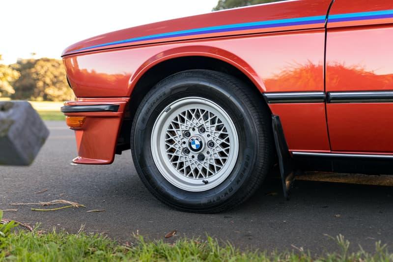稀有 1981 年式樣 BMW E12 M535i 車款展開拍賣