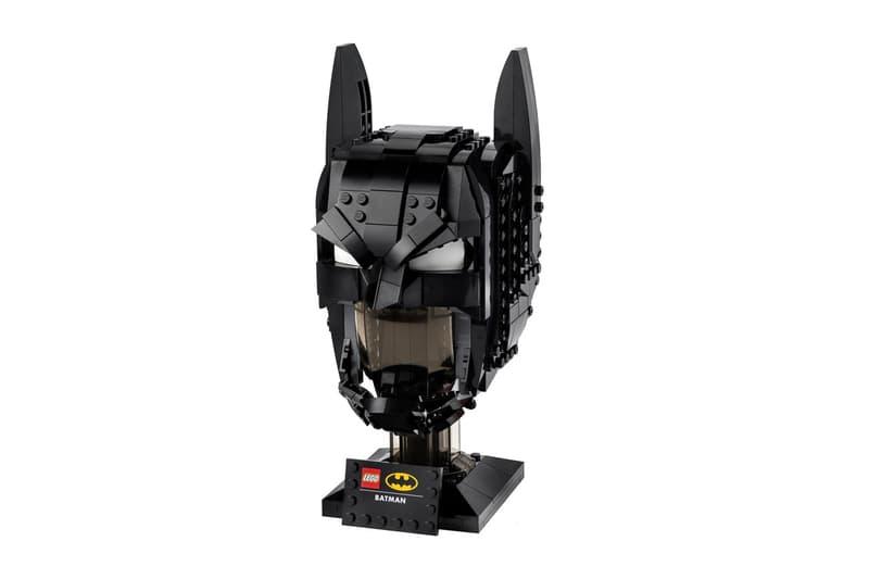 LEGO 攜手 DC 推出全新 Batman 頭罩積木模型