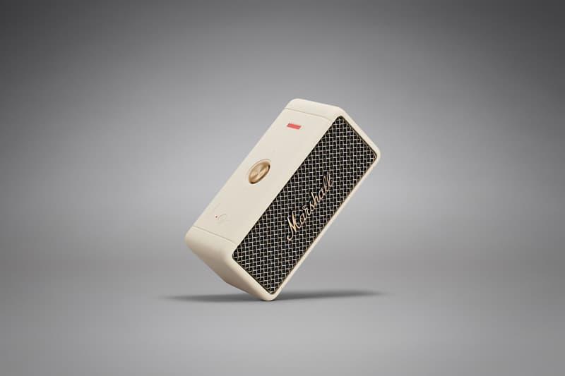 Marshall 推出全新 Emberton 便携音箱系列