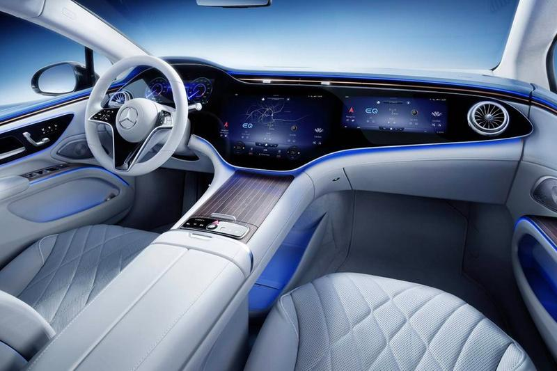 Mercedes-Benz 揭示電能車型 EQS 完整內裝樣貌