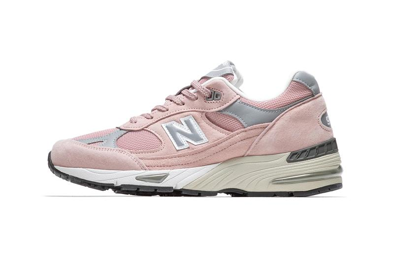 New Balance 991「Pink/Grey」最新配色版本正式登場
