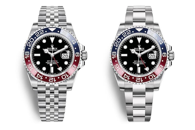 Rolex 人氣錶款 GMT-Master II「Batman、Pepsi」推出全新 Oyster 蠔式錶帶版本