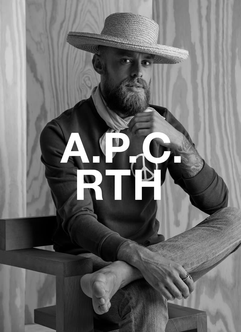 A.P.C. x RTH 全新聯乘系列「INTERACTION #10」正式發佈