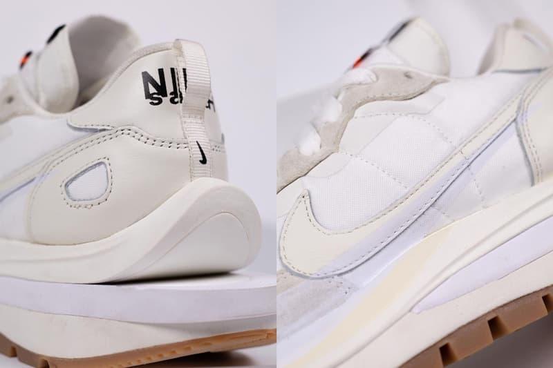率先近賞 sacai x Nike Vaporwaffle 最新聯名配色「Sail」