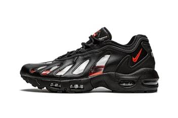 Picture of Supreme x Nike Air Max 96 最新聯名鞋款「Black」率先登場