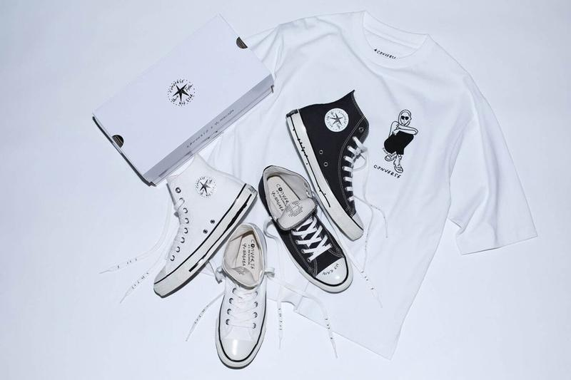 Yu Nagaba 長場雄 x Converse Japan 全新聯乘 Chuck Taylor All Star 系列鞋款發佈