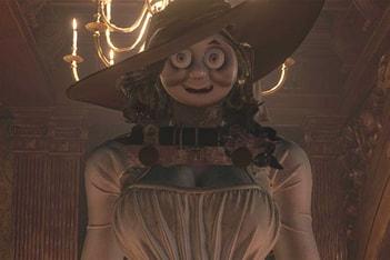 Picture of 本月遊戲大作《Resident Evil Village》貴婦角色已遭「湯瑪士小火車」模改化
