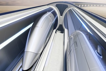 Picture of Zaha Hadid 攜手 Hyperloop Italia 打造「The Hyperloop」高速鐵路建設