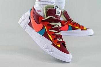 Picture of KAWS x sacai x Nike Blazer Low 三方聯乘鞋款最新谍照释出