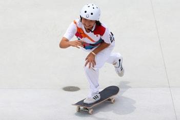 Picture of 東京奧運「滑板」項目第二面金牌誕生:西矢椛 NISHIYA Momiji