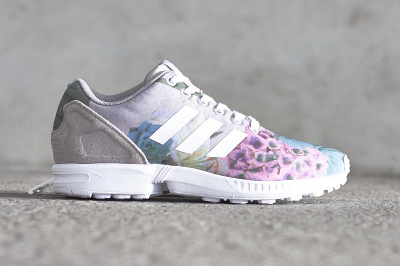 brand new 1e436 abcb9 adidas Preps for Spring with a Very Floral ZX Flux | HYPEBAE