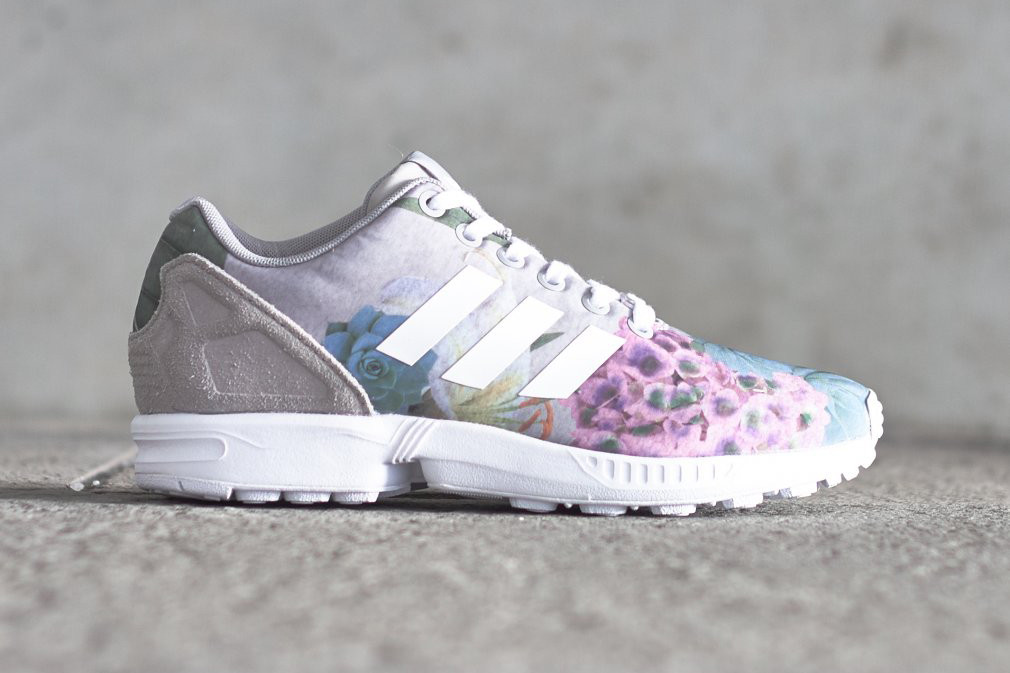 brand new 6b427 ea3d7 adidas Preps for Spring with a Very Floral ZX Flux | HYPEBAE