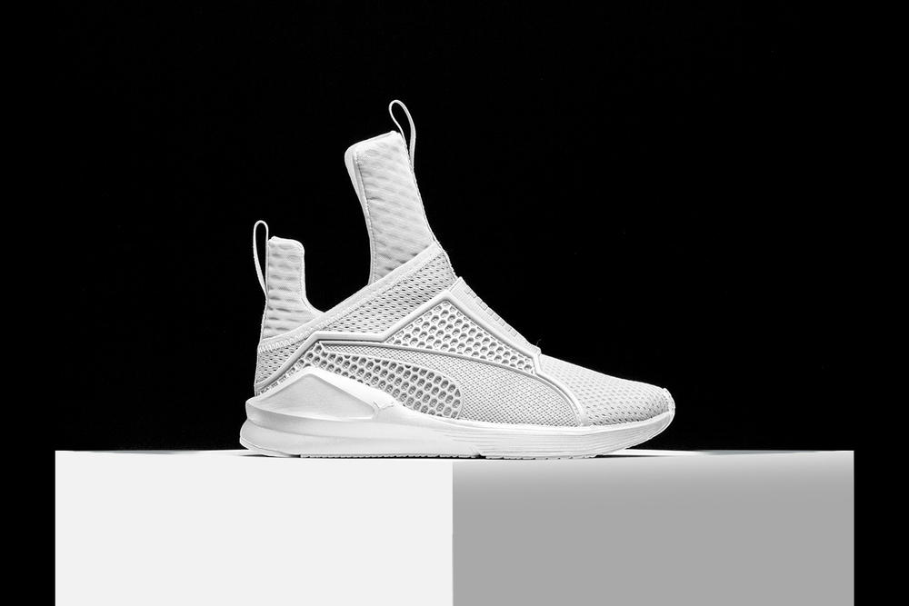 9dd903abd067 Rihanna x PUMA Finally Unveil the Fenty Trainer. Their first entirely  original sneaker collaboration.