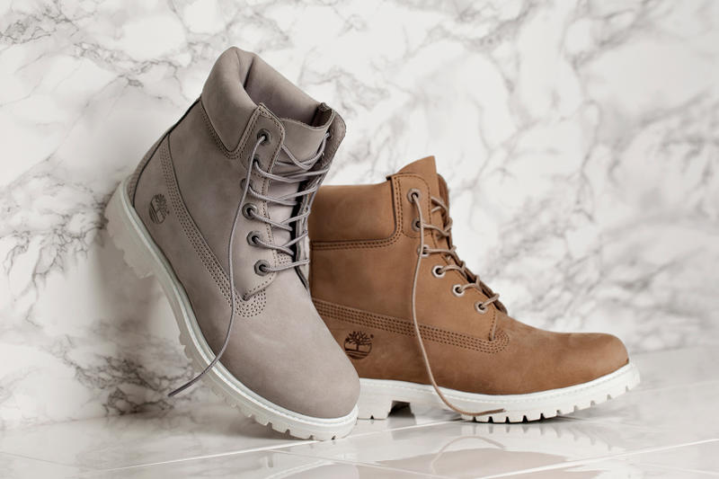 7c71064a15f Timberland WMNS Grey and Bone 6-Inch Boot | HYPEBAE