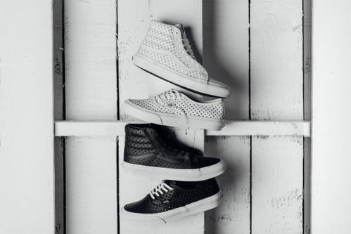 12e2da91986 The Vans Perforated Stars Pack Is a Subtle Addition to Classic Silhouettes