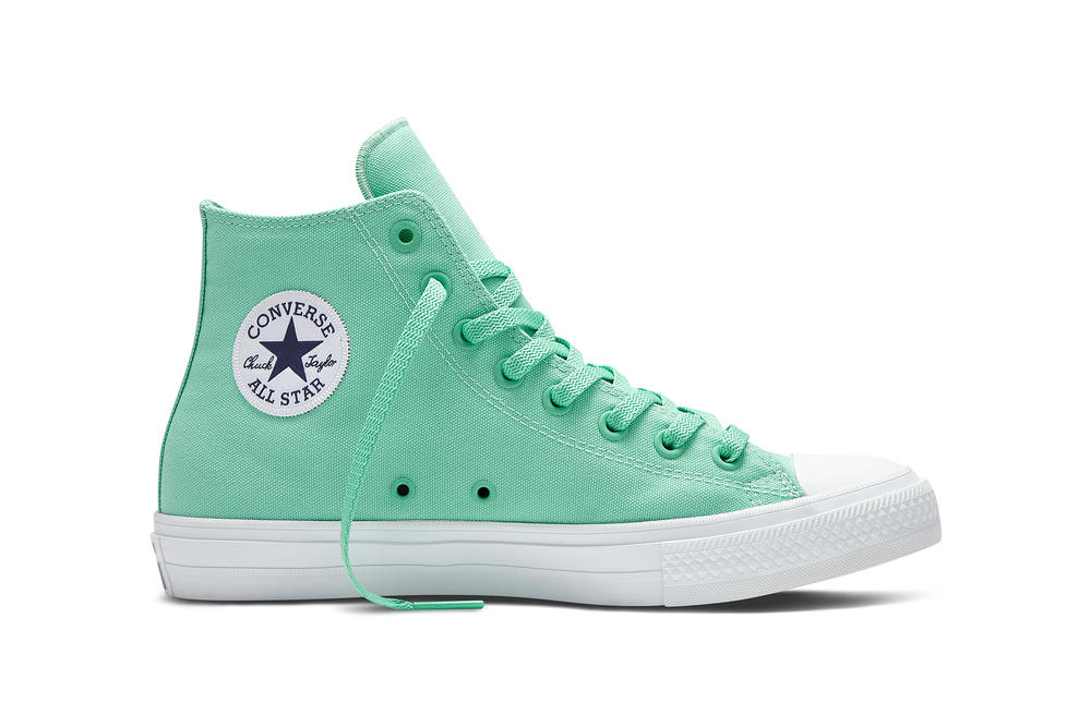 ad1245baebbe The Converse Chuck Taylor All Star II Goes Fluorescent for