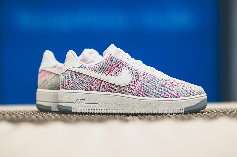 huge discount 936f7 8412b Nike Unveils a Psychedelic Air Force 1 Flyknit Low In