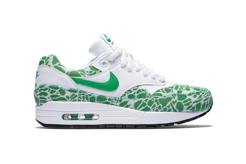 87bf260097 Nike Introduces an Air Max 1 2016 Spring Pack Perfect for St. Patrick's Day
