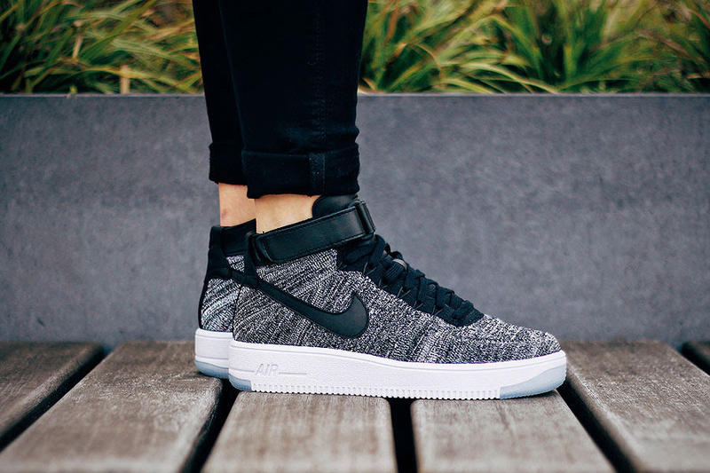 93cfa3351822 Nike Reworks Air Force 1 Flyknit