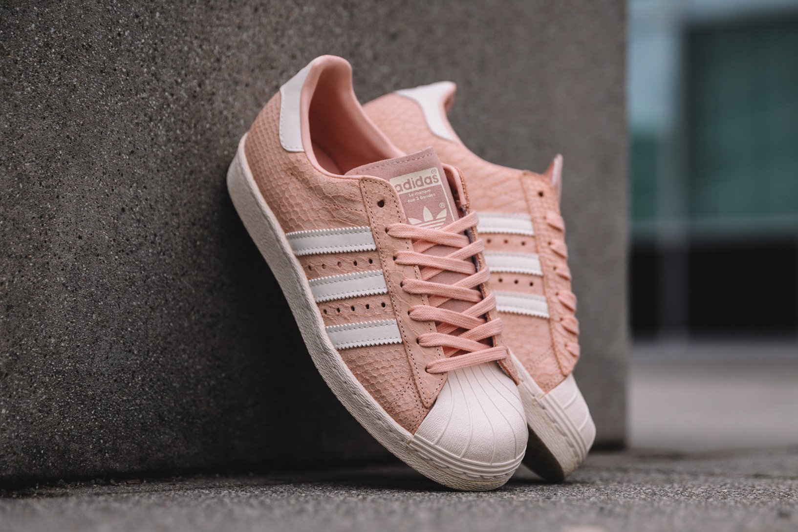 adidas superstar pink blush