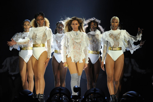 cdf2dea8113 See the Bodysuits Beyoncé Wore On The First Night of  Formation  World  Tour. Fashion