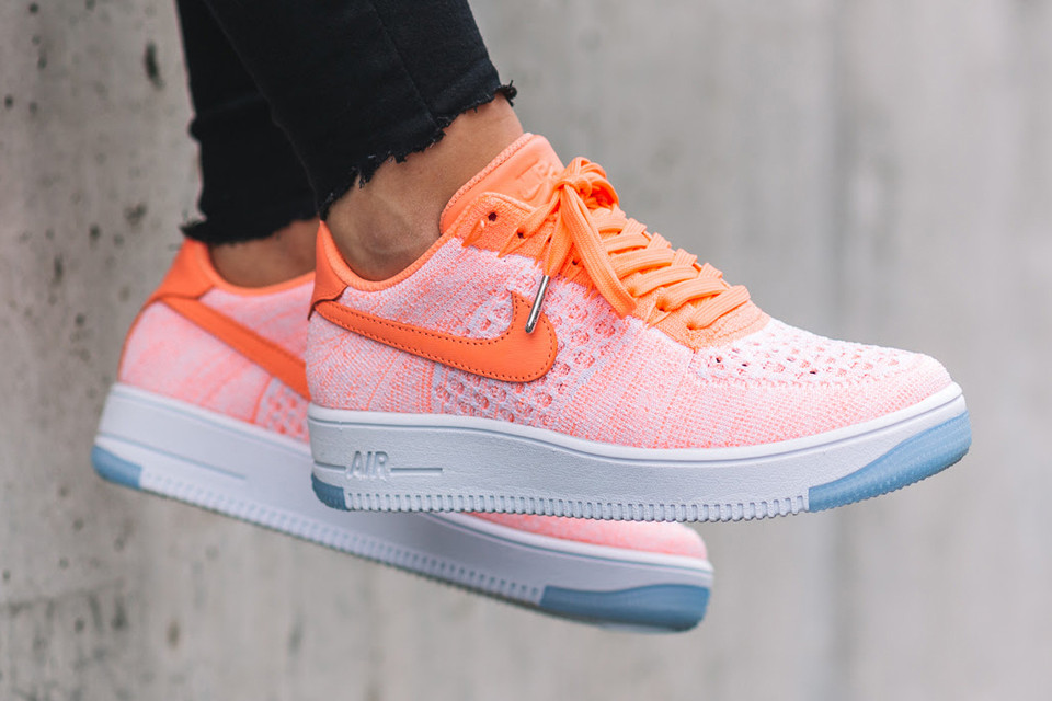 buy online 18112 7632f Nike Air Force 1 Flyknit Atomic Pink   HYPEBAE