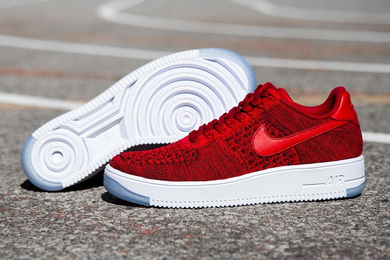 Ruidoso Cenagal Tregua  Nike Air Force 1 Ultra Flyknit Low Red | HYPEBAE