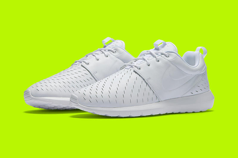 7a050d5bf2e1 Nike Roshe Run NM LSR Triple White