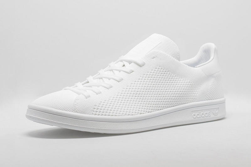 best website d79aa b8c9c adidas Originals Stan Smith Primeknit Triple White and Black ...