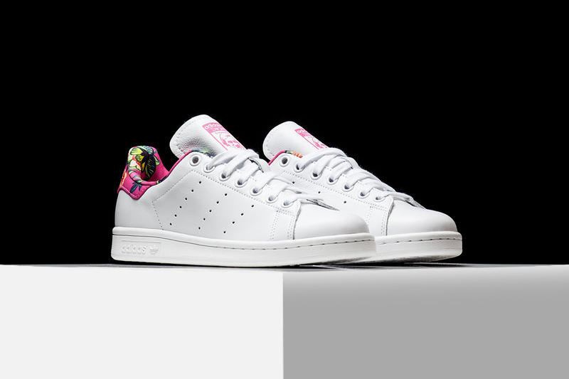 e8d63824c9ee adidas Originals x The Farm Company Stan Smith Blossoms in Pink