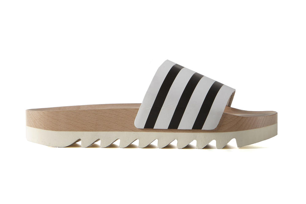 We Are Drooling Over These New adidas adilette Wood Slides