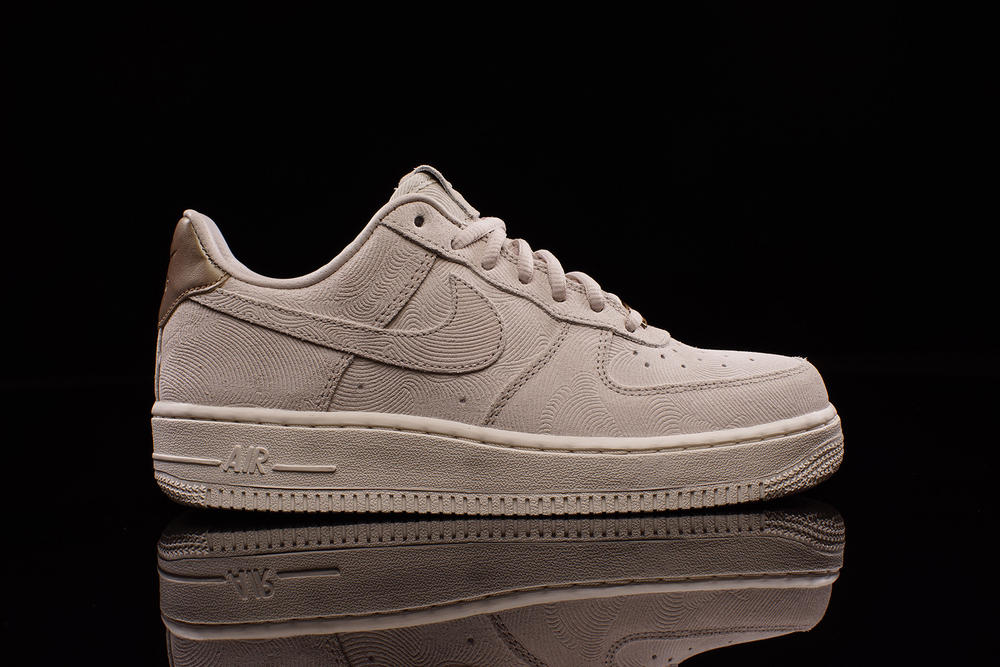 dcd1eb90e94 Nike Drops New Air Force 1 Low in Premium Suede Just for the Ladies