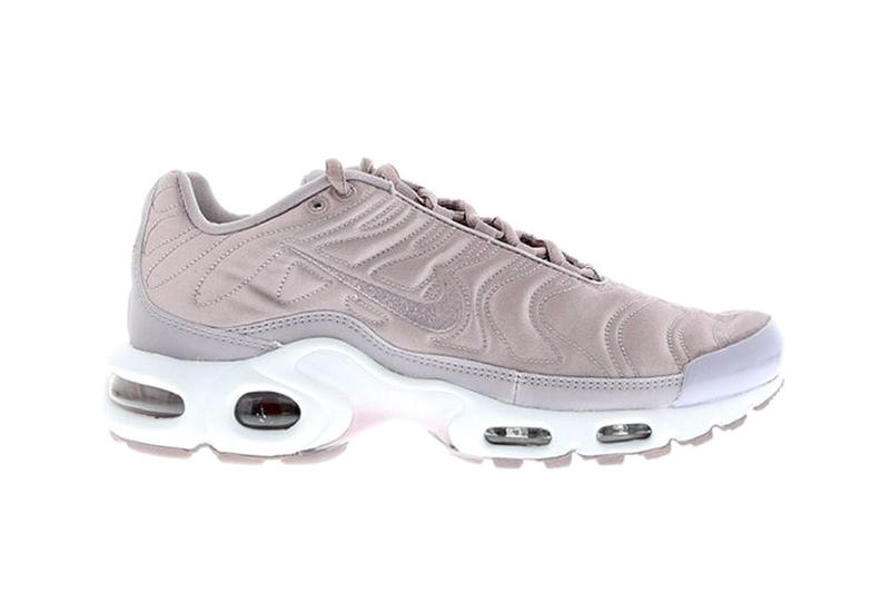 989c411d6e The Nike Air Max Plus Receives a Luxe Satin Makeover. A classy break from  the usual.