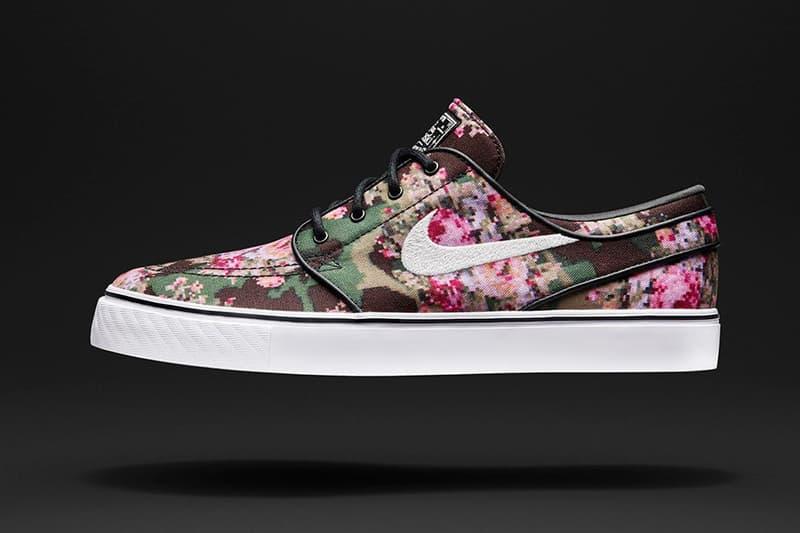 pikatoimitus suuri alennus halpa Nike SB Stefan Janoski 'Digi-Floral' | HYPEBAE