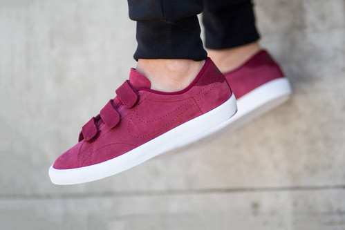 Nike Goes Crimson with the Tennis Classic AC Velcro