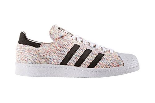 733755c20cf7e adidas Originals  Superstar Primeknit Gets Some Rainbow