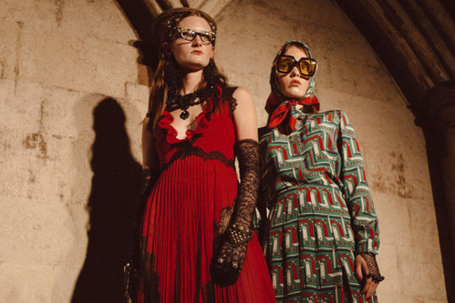 26f2c741c73 Gucci 2017 Resort Takes Over Westminster Abbey With Its Bohemian Muse
