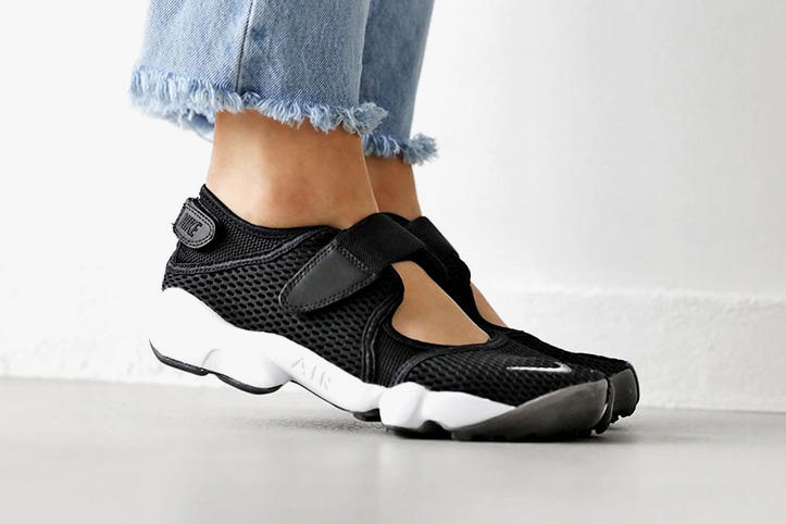 Nike Air Rift Breathe Black White Cool Grey  2fcb1ead76ce