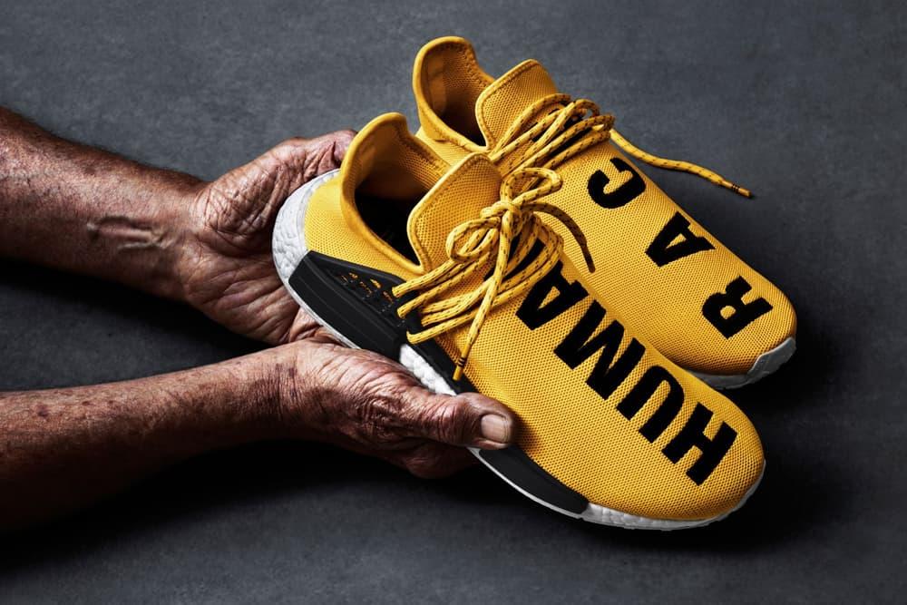 b8f02fe9e An Official Look at the adidas x Pharrell Williams Hu NMD