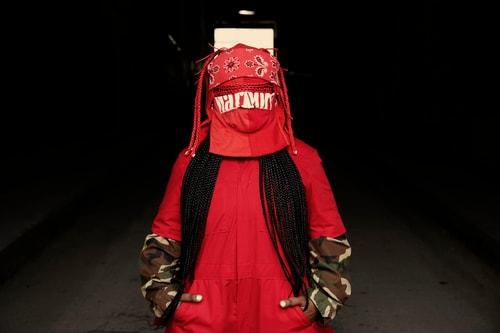 online retailer 74597 170c9 Behind Leikeli47 s Outward Mask Is